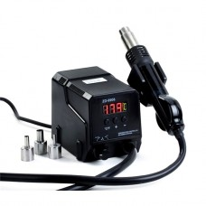 13-00-111. Темовоздушная паяльная станция ZD-8908, с дисплеем, 700W, 160-480°C