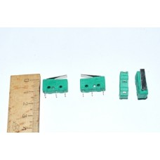 11-03-053. Микрик средний с лапкой MSW-12 (ON-ON), 3pin, 3A-250V