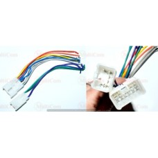 01-17-012. Переходник автомагнитолы SONY - ISO (456001), с кабелем 20см