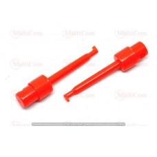 17-00-002RD. Щуп-зажим типа крючок, 60 мм, красный