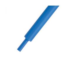 16-00-038BU. Термоусадка 1,5/0,75мм W-1-H (2х), матовая, подавляющая горение, синяя, 1м