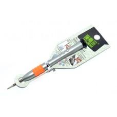 12-06-061. Отвертка прецизионная плоская PH-1,5 мм, металлическая ручка