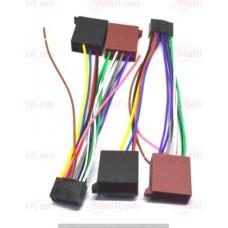 01-17-007. Переходник автомагнитолы JVC - ISO (459006), с кабелем 20см