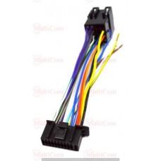 01-17-009. Переходник автомагнитолы KENWOOD - ISO (457007), с кабелем 20см