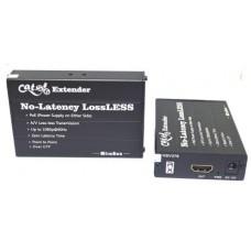 HDMI EXTENDER TX (передатчик) + RX (приемник), over Cat5e/6 cable, до 120м, HSV376