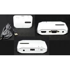 03-02-076. Конвертер HDTV 3 в 1 (гн.USB А+гн.3,5+гн.MicroUSB > гн.HDMI+гн.VGA+гн.3,5)