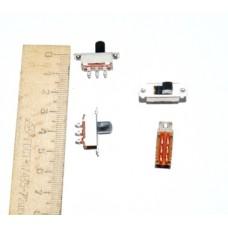 11-03-201. Переключатель движковый KBB40-2P2W (ON-ON), 6pin, 0,5A, 250V