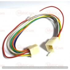 01-16-055. Разъём питания 9-ти контактный (CAR9), с кабелем