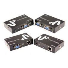 03-03-003. Удлинитель VGA и аудио сигнала, до 100м, MT-100T
