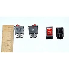 11-02-109. Переключатель KCD-1 (ON-OFF), 4pin, 10А-125V/6A-250V, 220V