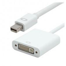 03-00-082. Переходник штекер mini Display Port - гнездо DVI, gold pin, c кабелем 0,2м