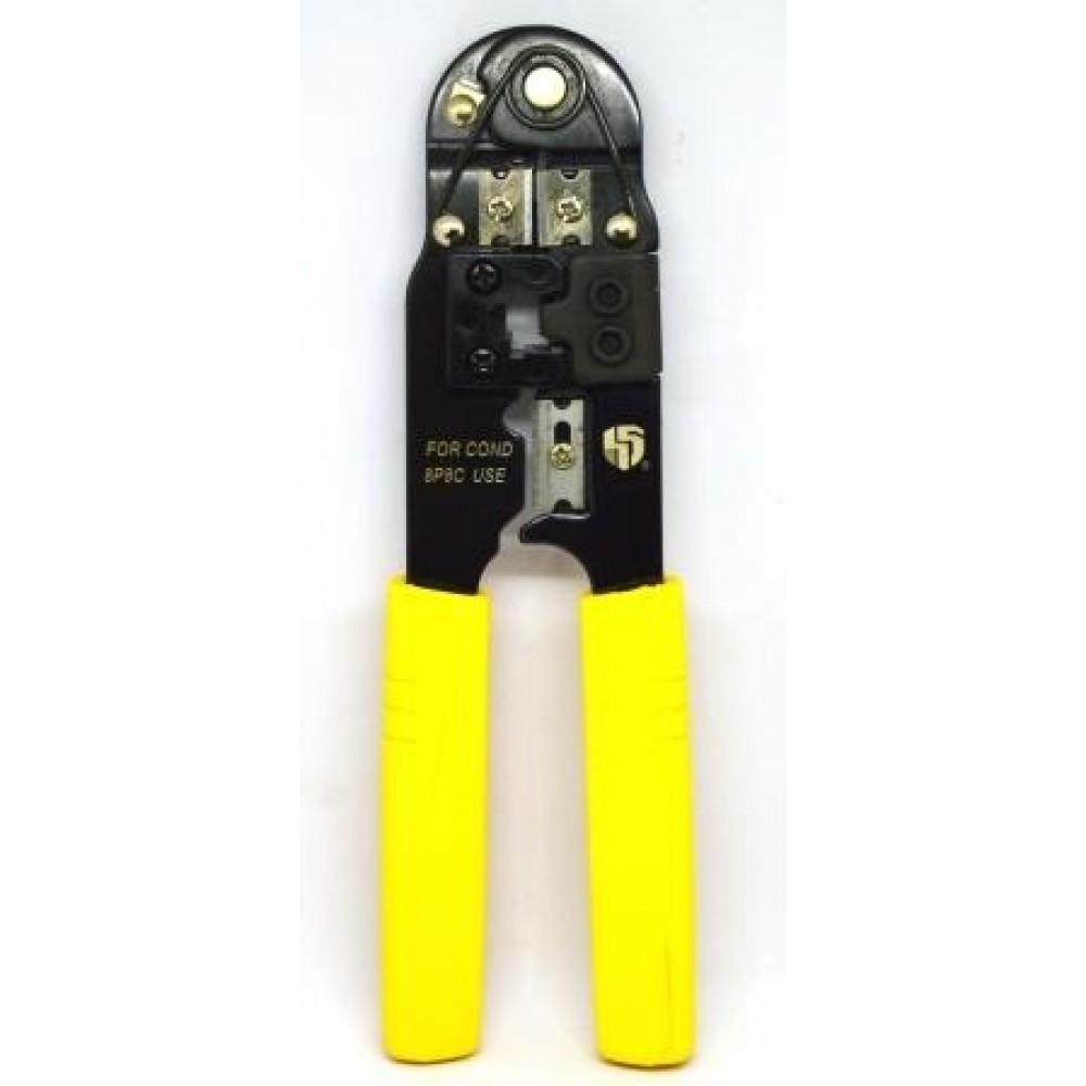 12-02-017. Инструмент обжимной для разъемов 8р8с (RJ-45), НТ-210C