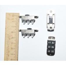 11-03-203. Переключатель движковый KBB70(Р)-2P2W (ON-ON), 6pin, 3A-250V