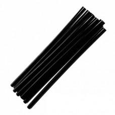 12-00-213. Термоклей диаметр 7 мм, длина - 200 мм, черный, в упаковке 1кг