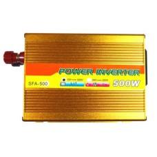 06-00-005. Инвертор c 12V в 220V Santer FAA-500W +USB